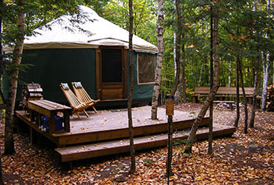 Birches Yurt