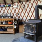 Birches Yurt - Frost Mountain Yurts