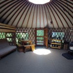 Mountain View Yurt - Frost Mountain Yurts