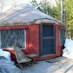 Trailside Yurt - Frost Mountain Yurts