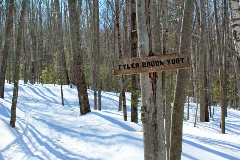 Tyler Brook Yurt - Frost Mountain Yurts