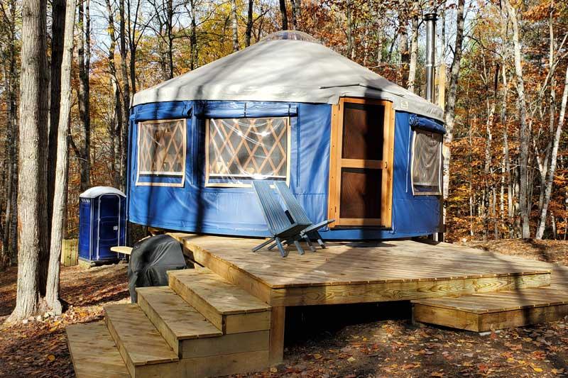 Tree Haven Yurt
