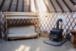 Trailside Yurt