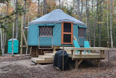 The Oaks Yurt